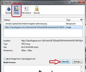 Cara Menyimpan Gambar Yang Tidak Bisa Langsung Save as Ke PC/Laptop