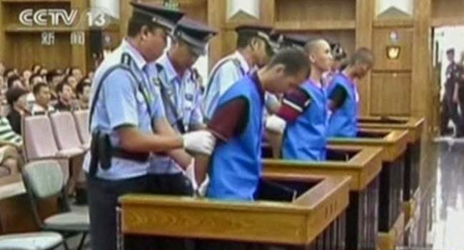 Vonis Mati 3 Terdakwa Penikaman di Kunming
