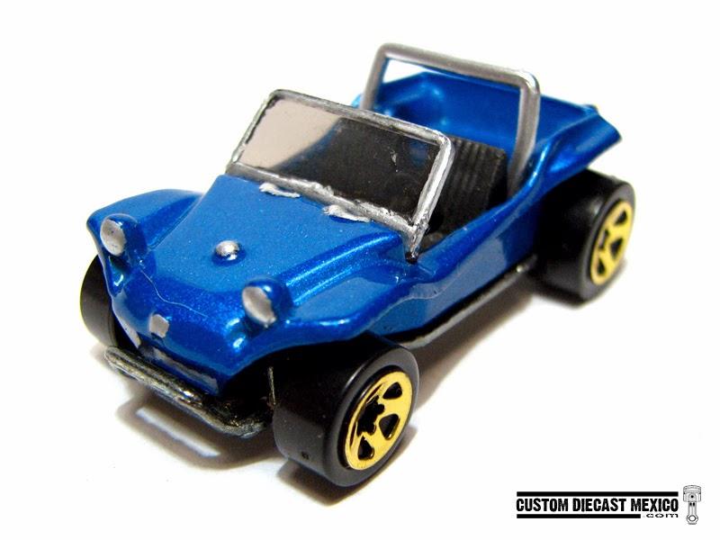 Hot Wheels Meyers Manx - Custom Diecast México