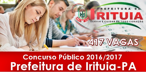 Apostila Prefeitura de Irituia PA 2017