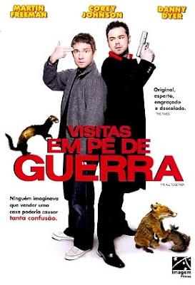 Filme Poster Visitas em Pé de guerra DVDRip XviD & RMVB Dublado