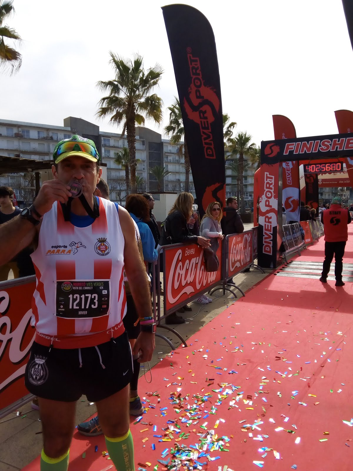 Marató Vies Verdes Girona 21-2-2016
