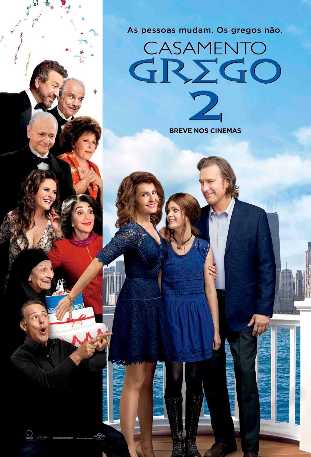 Casamento Grego 2 Torrent - Blu-ray Rip 720p e 1080p Dual Áudio (2016)