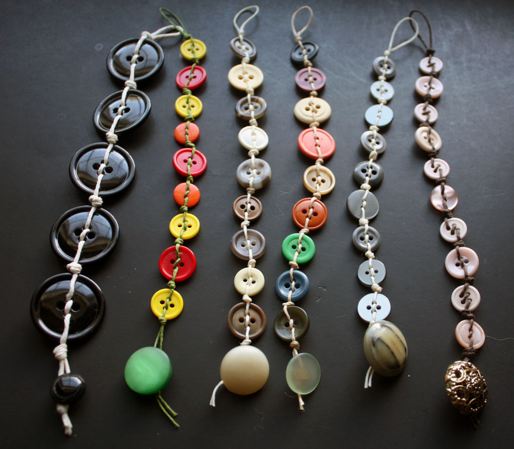 Crafty hope button bracelet overdose for Buttons with shanks for jewelry