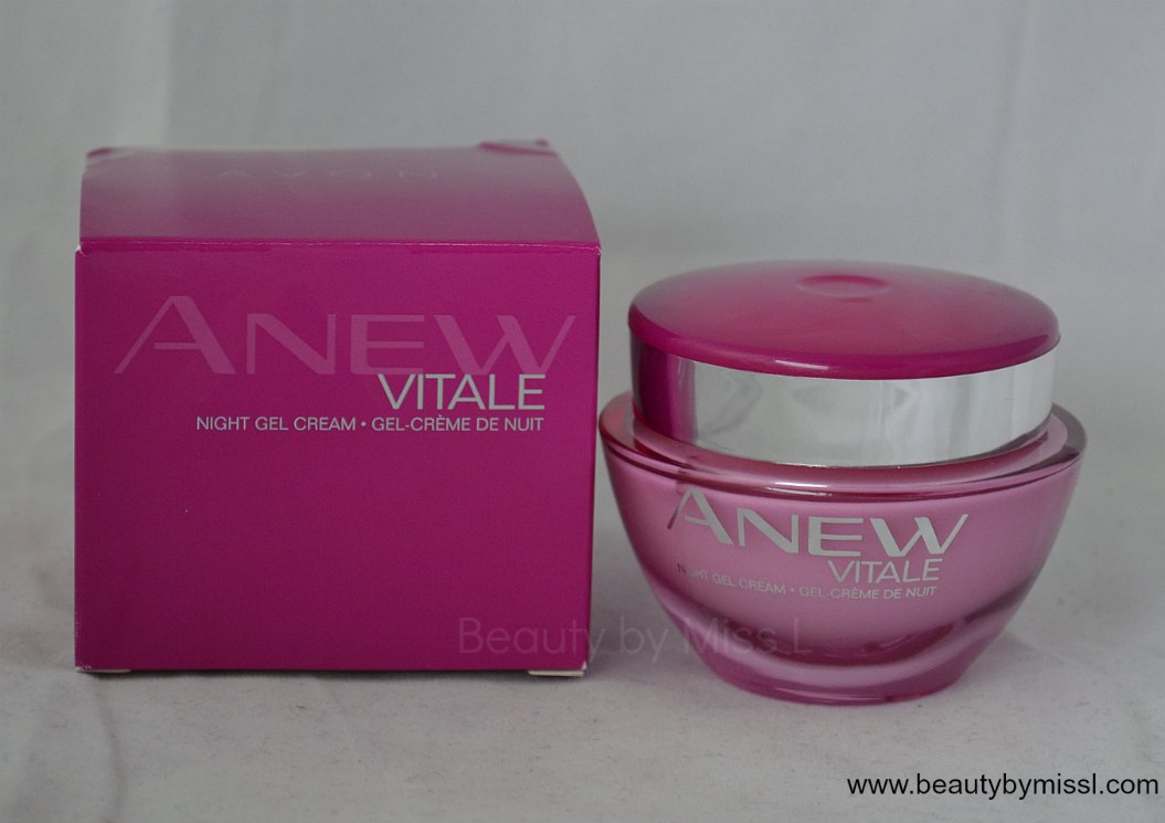 AVON Anew Vitale Night Gel Cream