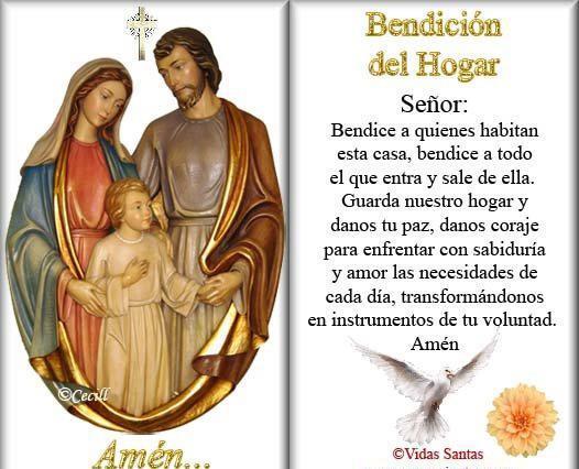 Bendiciones Del Matrimonio Catolico : Ágape dios bendicion del hogar