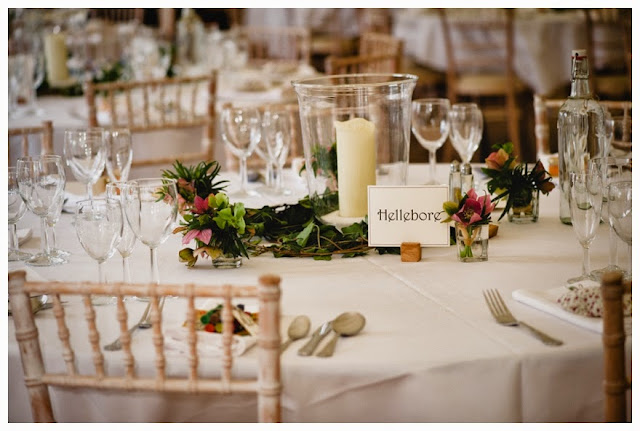 An exquisite english country garden spring wedding the reception we had plenty of diy projects our wedding invitations order of services place settings table plans menus table decorations favours lots of props junglespirit Image collections