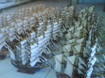 Souvenir Murah,Miniatur kapal,Kapal miniatur