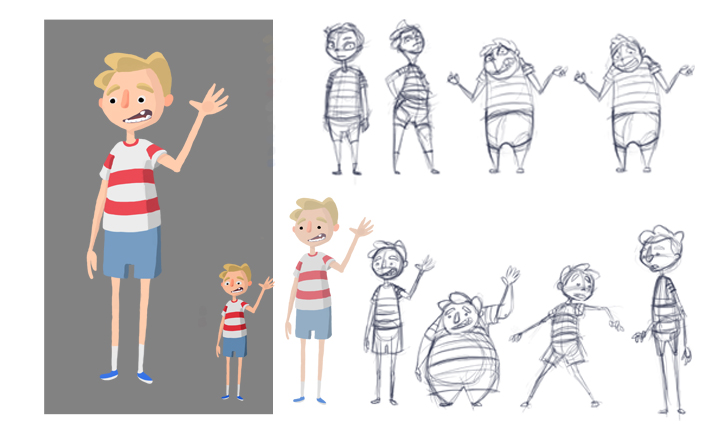 Character Design Little Boy : The art of chris september