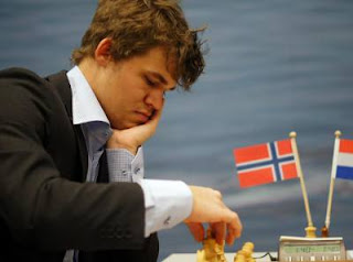 Échecs : Magnus Carlsen - Photo © Tata Steel