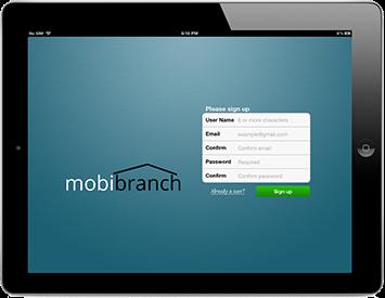 Mobibranch sur iPad