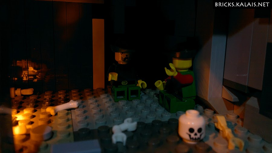 18. Dungeons. Forestmen discuss about escape plans.