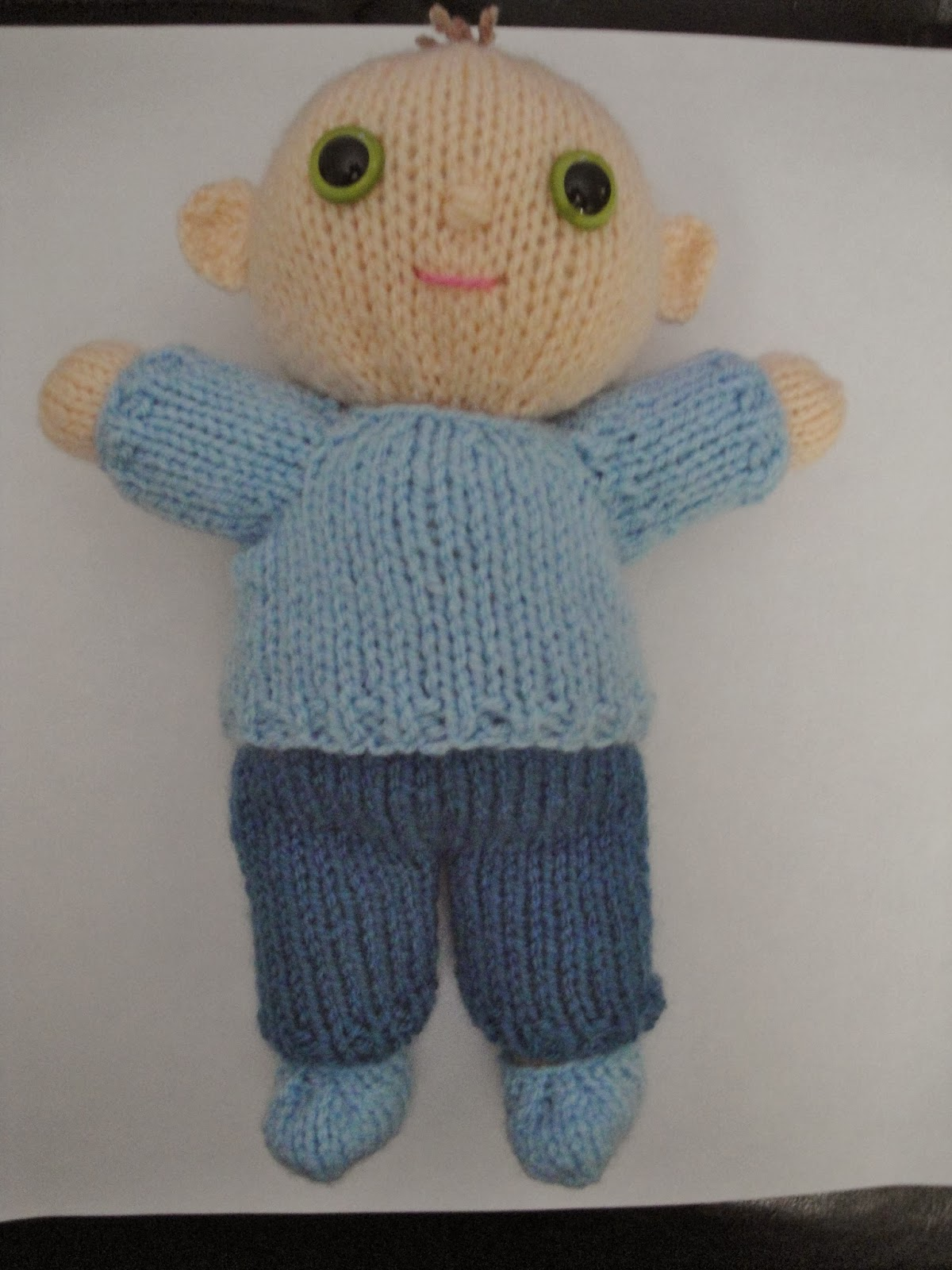 Crochet Pattern For Doll Diaper : Chiwaluv Amigurumi Critters: Lil Tots Baby Boy
