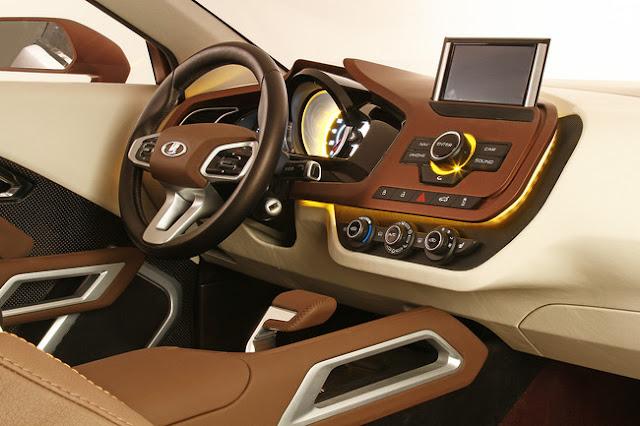 приборная панель водителя Lada XRAY