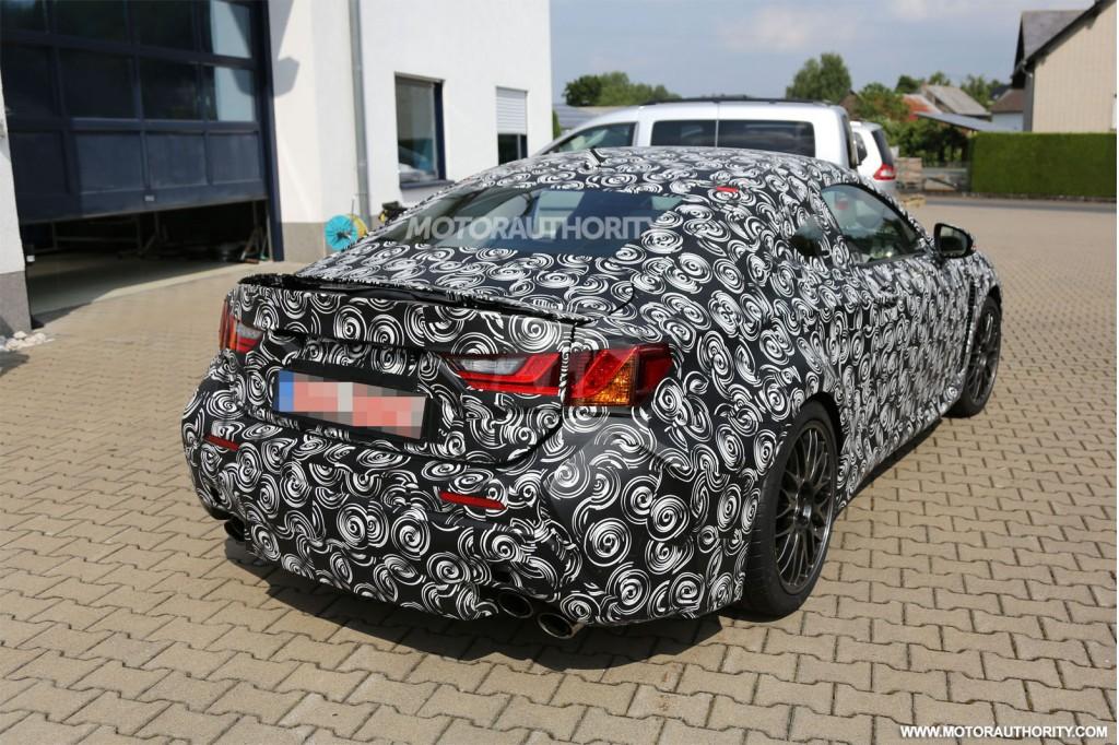 Lexus RC F, koncept, japoński sportowy samochód, coupe, RWD, V8, IS F, prototyp, test mule