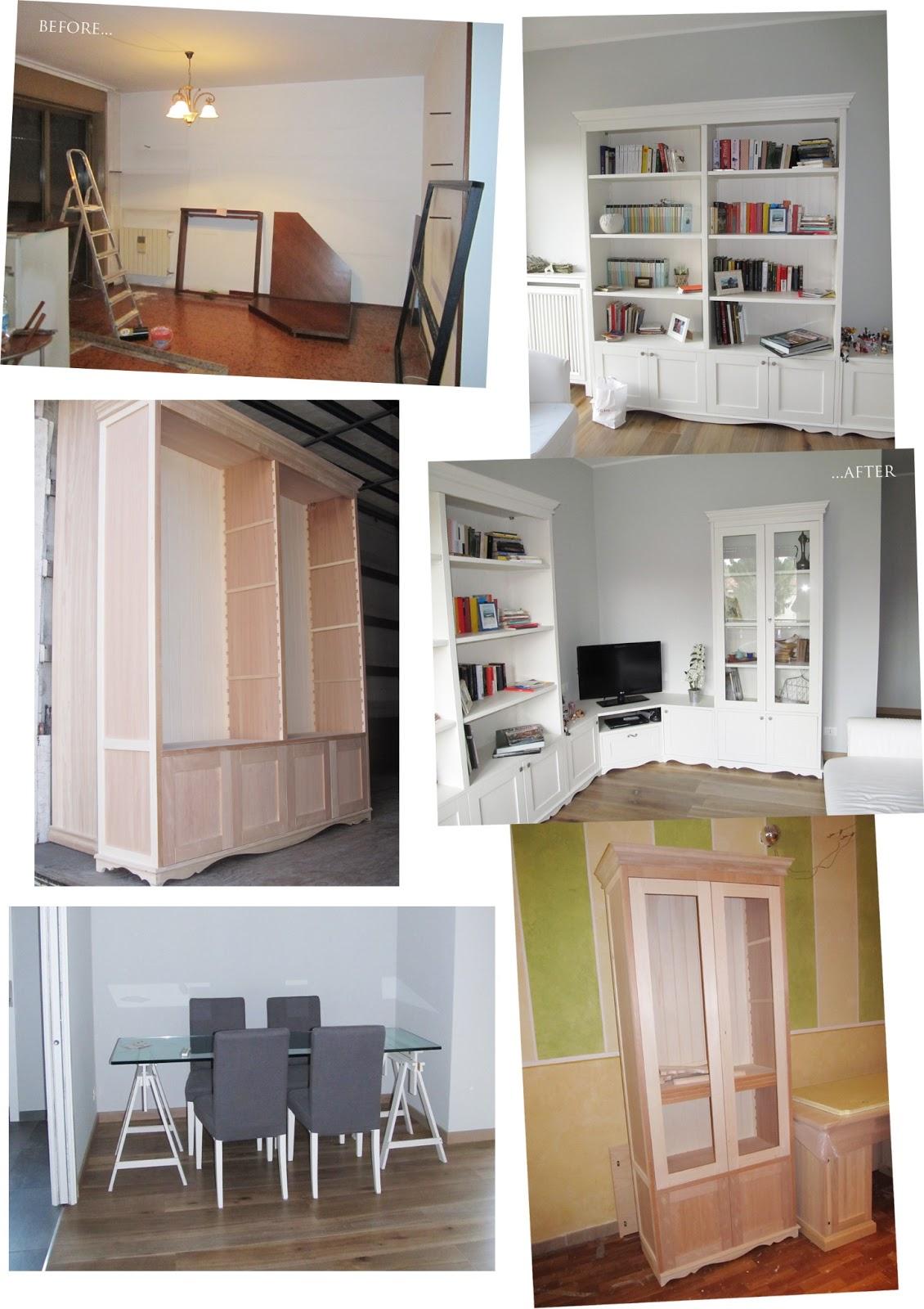 Un total look firmato mobili a colori   shabby chic interiors