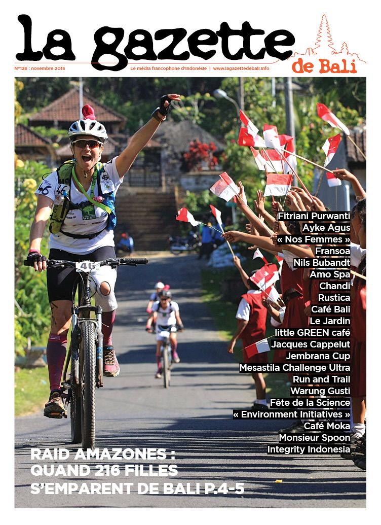 La Gazette de Bali novembre 2015