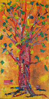 Autumn Tree - Painting 4 of Four