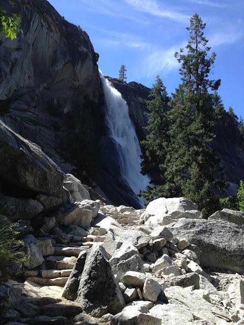 Vernal Nevada Falls Hike Yosemite, CA