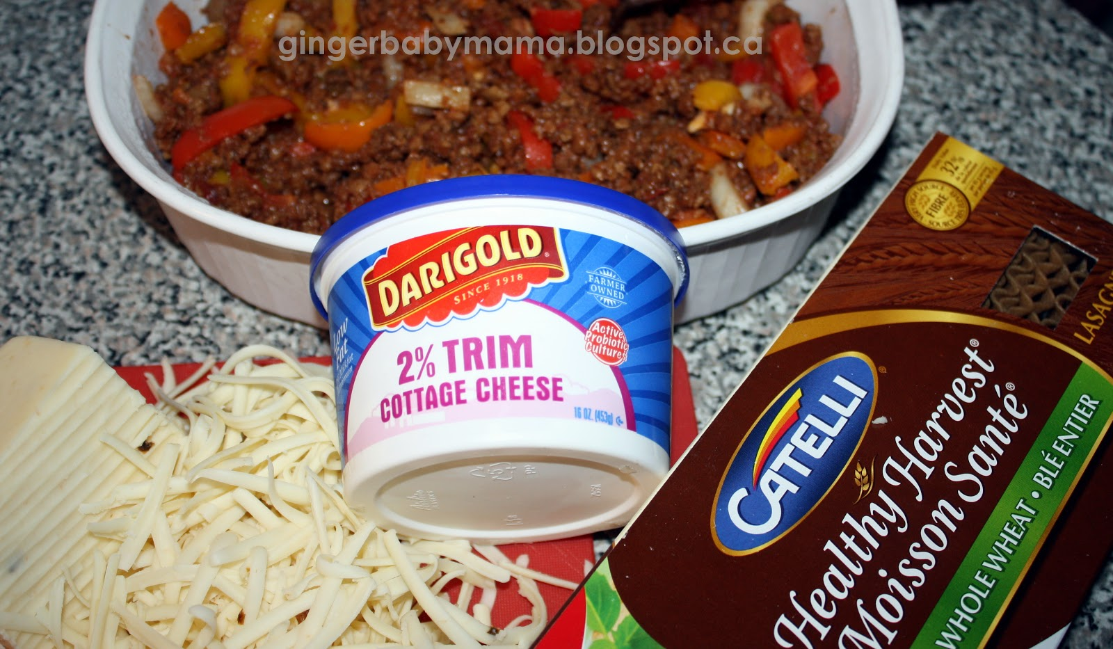 GingerBabyMama: Tex Mex Lasagna and Seasoned Taco Meat for the Freezer