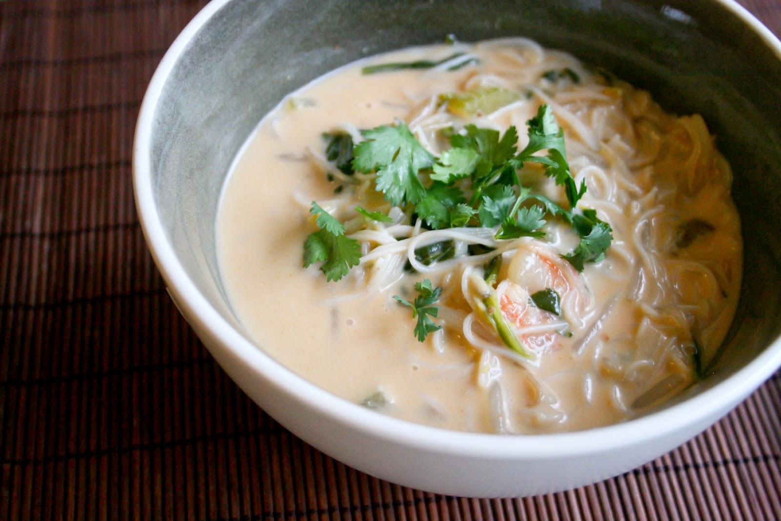 Thai Coconut Shrimp Soup - Food & Whine