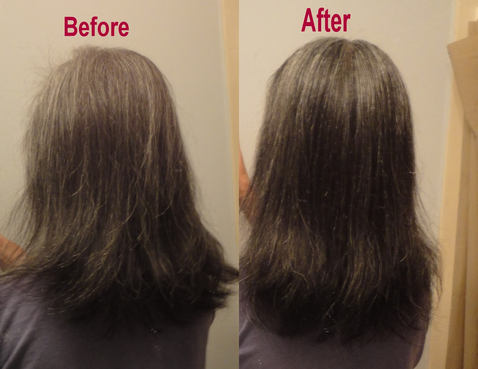 What Is Hair Cutting : don t like the v cut so i just cut it straight across i took off an ...