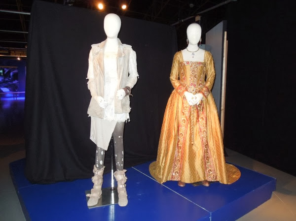 Doctor Who Billie Piper Elizabeth I Day of Doctor costumes