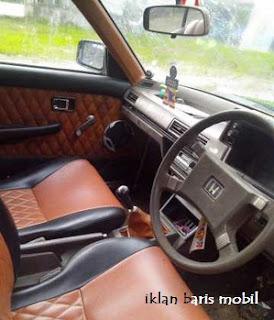 Dijual - Honda accord 1982, agung ngurah car