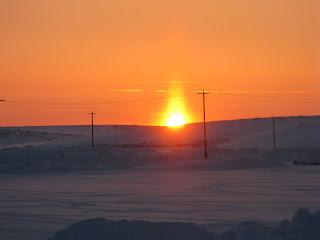 Kotzebue sunset, Arctic Alaska