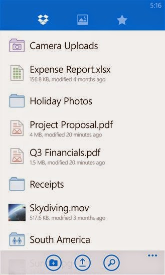 Dropbox for Windows Phone now available officially