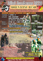 Poster Mini Jamboree MTB: Adrenaline Rush