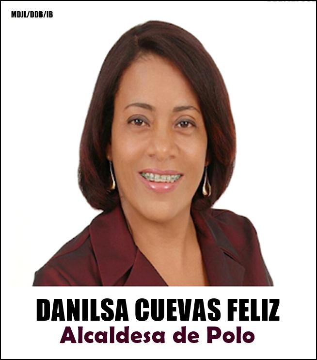 DANILSA CUEVAS FELIZ/ALCALDESA DE POLO