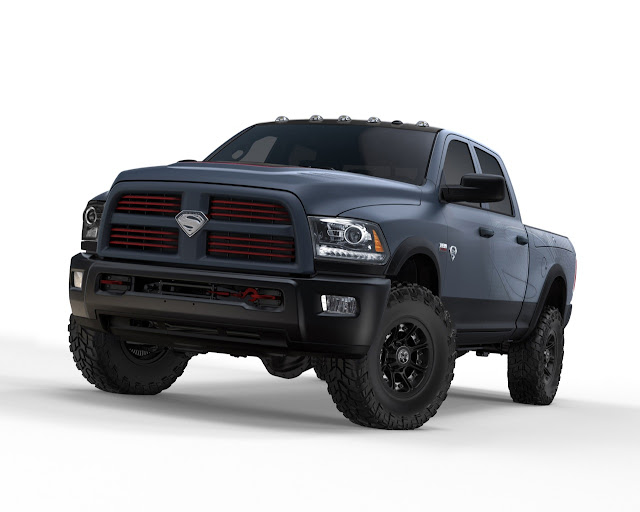 Ram Unveils Man of Steel Superman Power Wagon [Video]