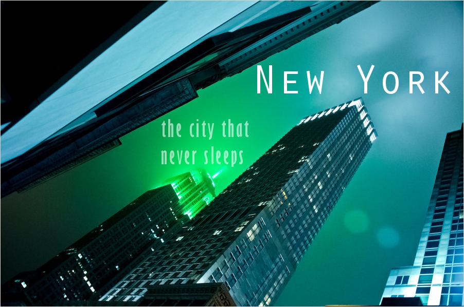 Witaj w mieście, które nigdy nie zasypia