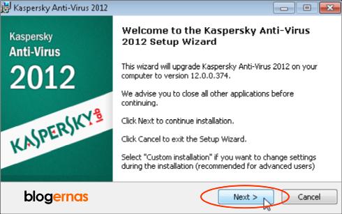 Cara Instal Kaspersky Anti Virus (KAV) Bajakan agar Menjadi Original