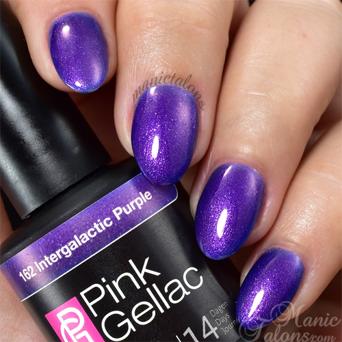 Pink Gellac Intergalactic Purple Swatch