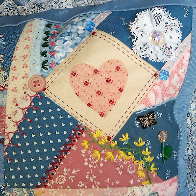 Upper right quilt block