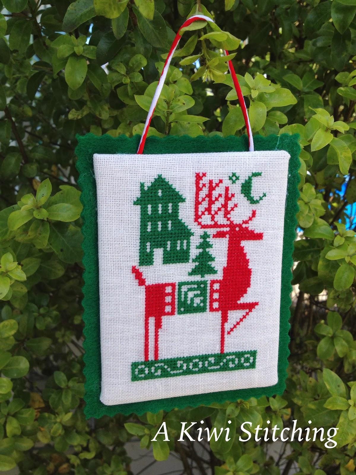 A kiwi stitching nordic holiday ornaments for Decoration kiwi