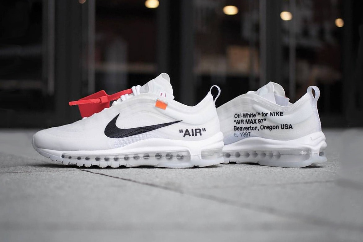 Virgil Abloh x Nike Air Max 97 sneaker