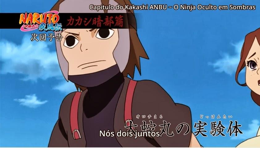 Naruto Shippuuden 353 - O Objeto De Pesquisa Do Orochimaru