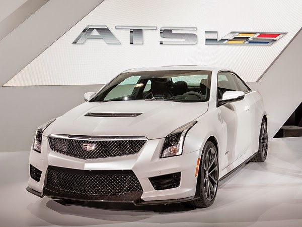 2016 Cadillac ATS-V Exterior