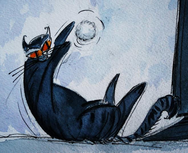 ...le chat du dessin
