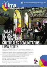 TALLER DE DISEÑO DE PROYECTOS CULTURALES