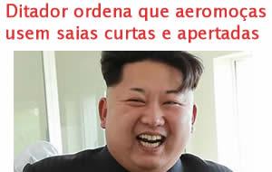 Ditador ordena que aeromoças norte-coreanas usem saias bem curtas e apertadas