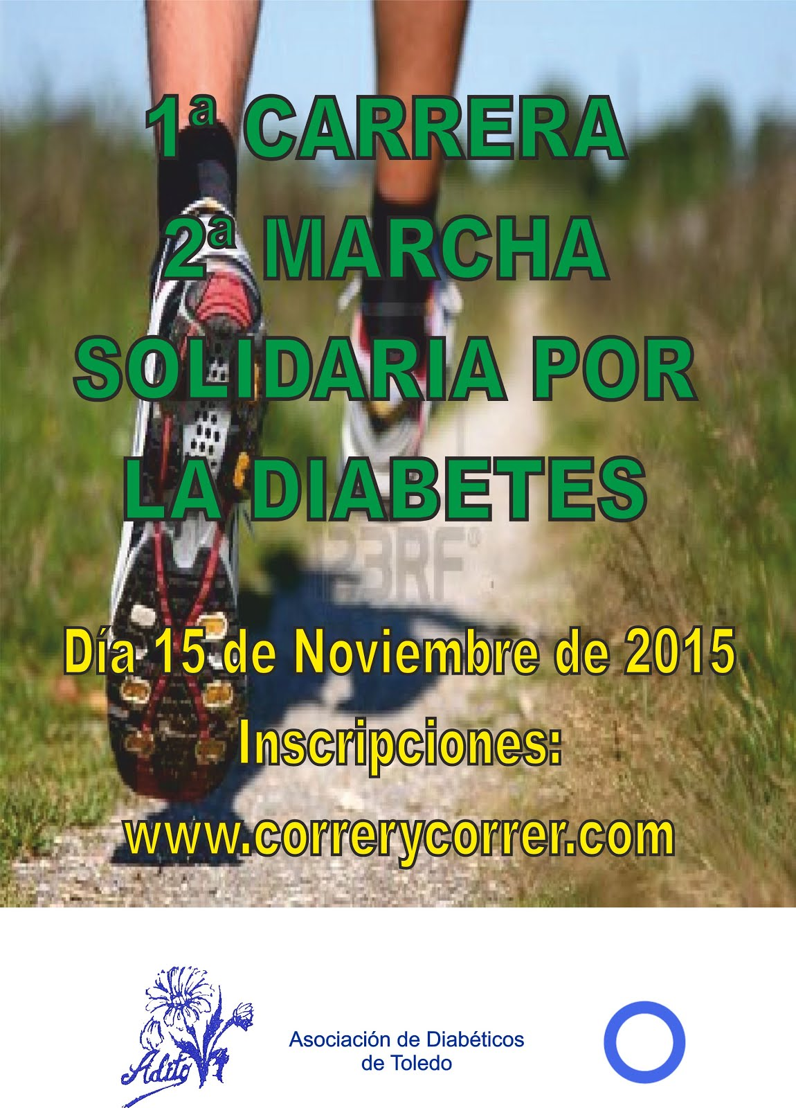 1ª Carrera Solidaria por la Diabetes, en Toledo