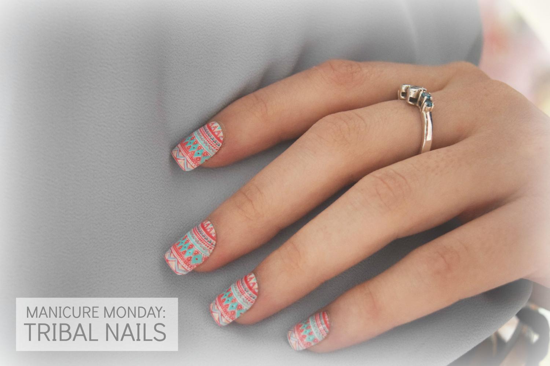 Pixie Dust & Wanderlust: #004 Manicure Monday: Tribal nails