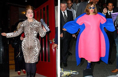 Lady Gaga, fashion, what not to wear