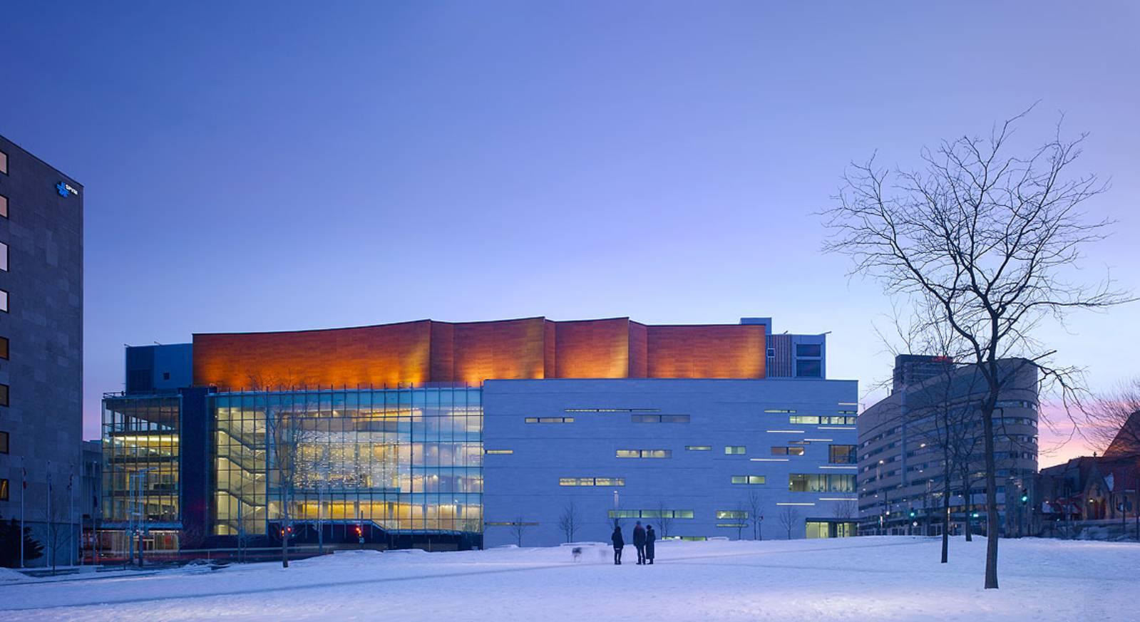 Maison symphonique de montr al by diamond schmitt architects for Architecture des maisons