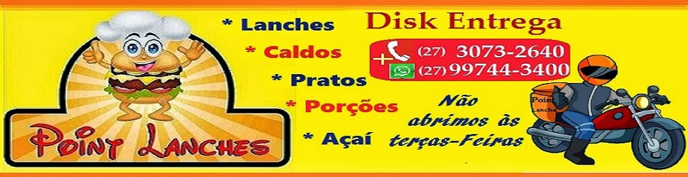 POINT LANCHES - DISK ENTREGA