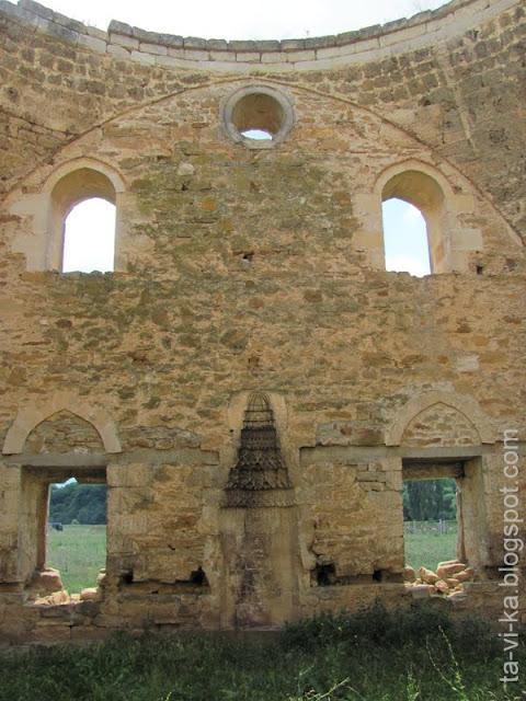 Мечеть Эски-Сарай. Михраб